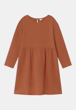 Day dress - orange dark