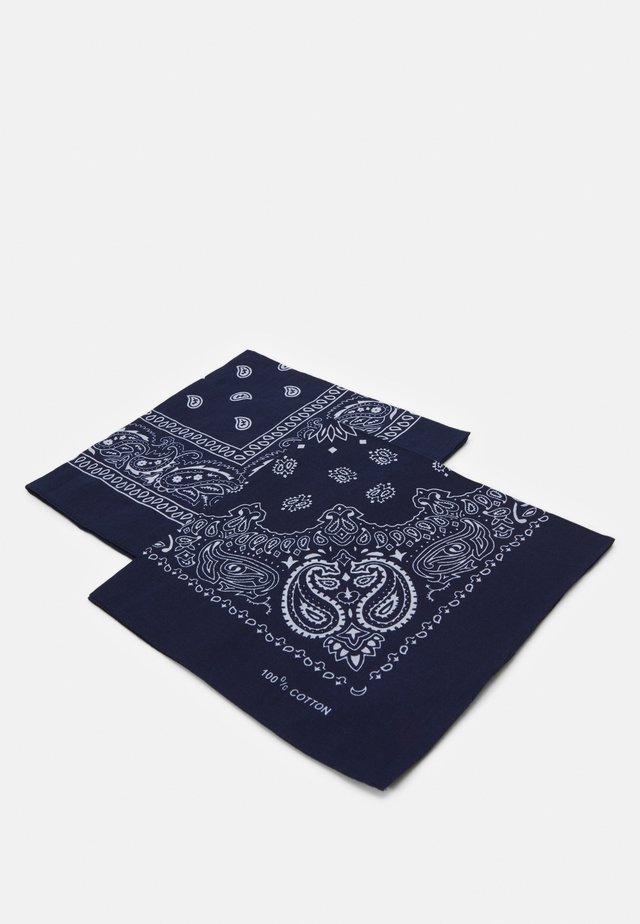 JACYOUNG BANDANA 2 PACK - Šátek - navy blazer