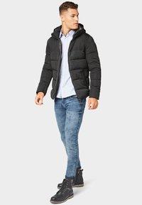 TOM TAILOR - MIT KAPUZE - Winter jacket - black - 1
