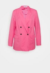 Simply Be - DOUBLE BREASTED BLAZER - Blazer - hot pink - 3