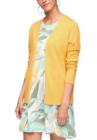 s.Oliver - VESTE - Cardigan - bright yellow - 6