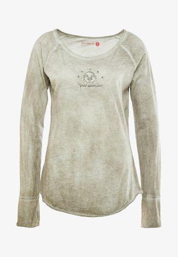 KARANI - Maglietta a manica lunga - grey