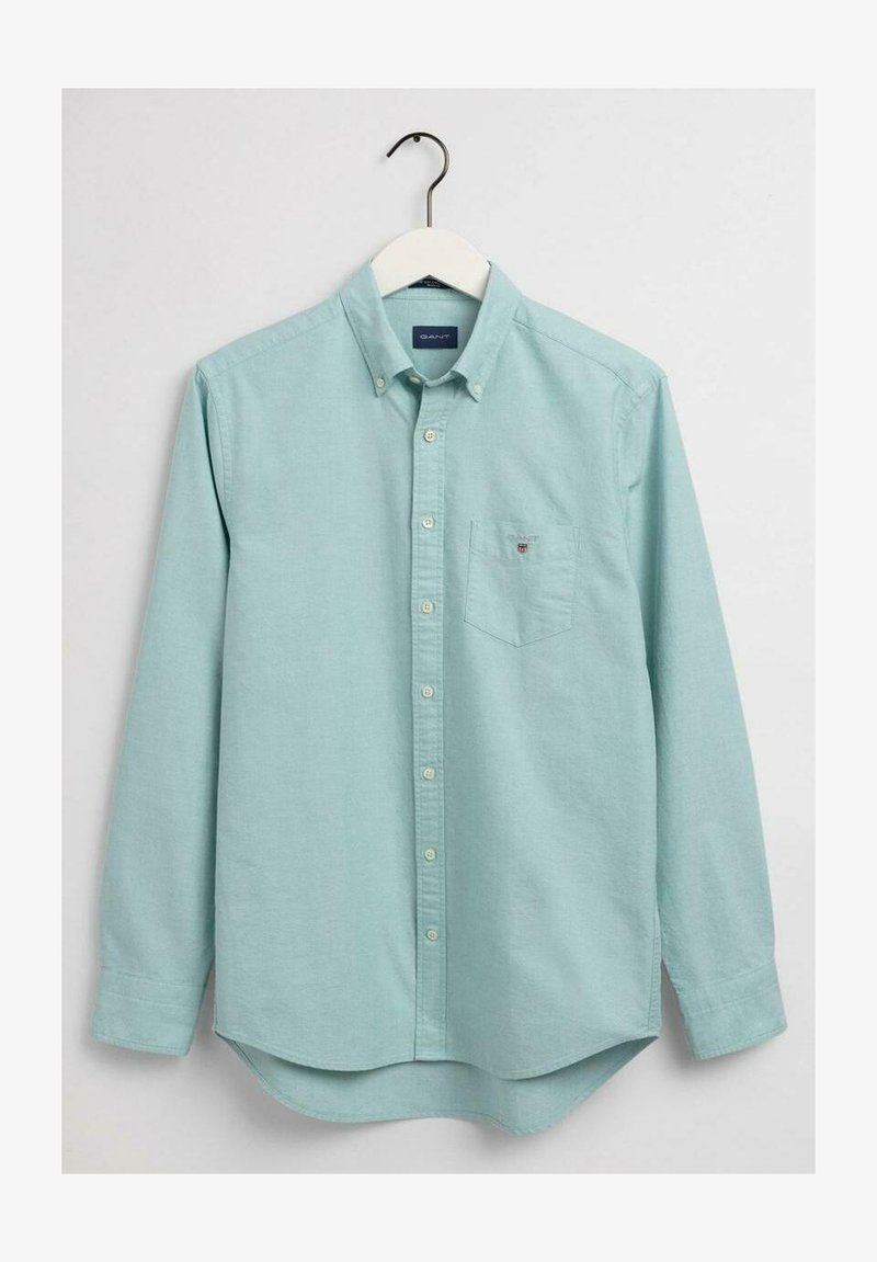 GANT - THE OXFORD - Shirt - green lagoon
