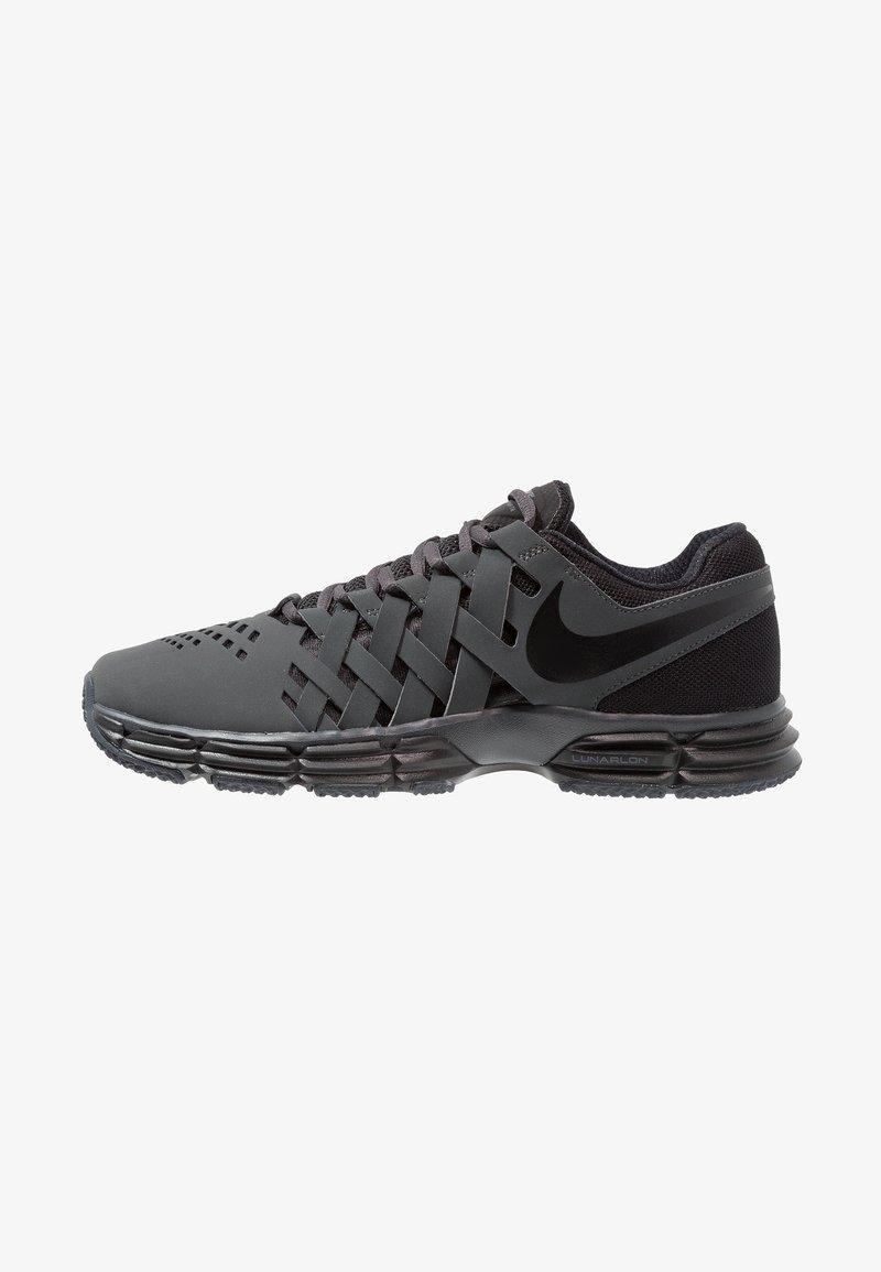 Nike Performance - LUNAR FINGERTRAP TR - Zapatillas de entrenamiento - anthracite/black