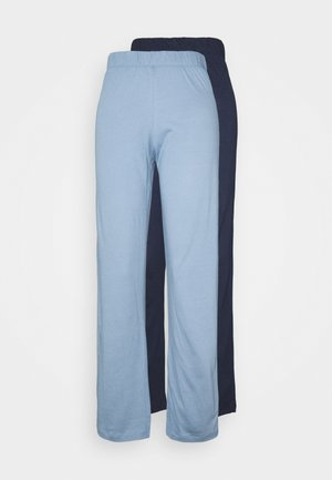 PANTS 2 PACK - Pyjama bottoms - blue mix