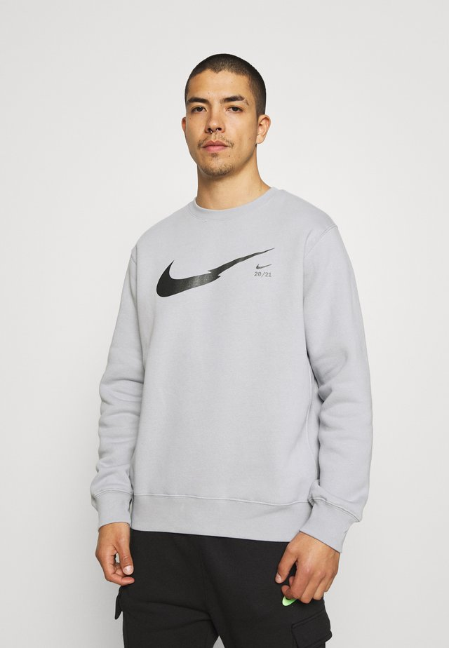 ZIGZAG CREW - Sweatshirt - wolf grey