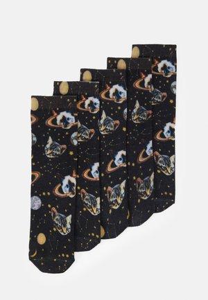 SASSA SOCK 5 PACK - Sokken - black
