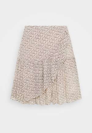 LACING SKIRT - Jupe portefeuille - cement