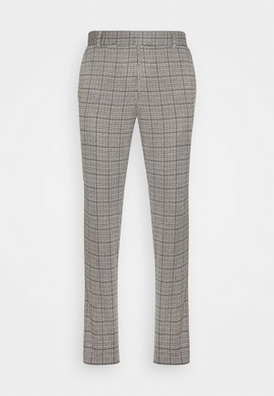 ONSELIAS CHECK  PANTS - Broek - beige