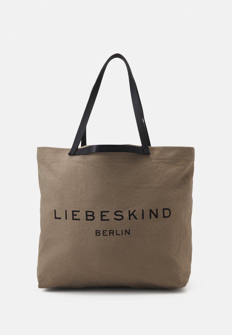 Liebeskind Berlin - SHOPPER LARGE - Tote bag - taupe