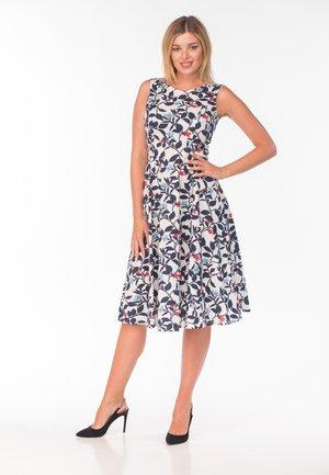 Jersey dress - flower print