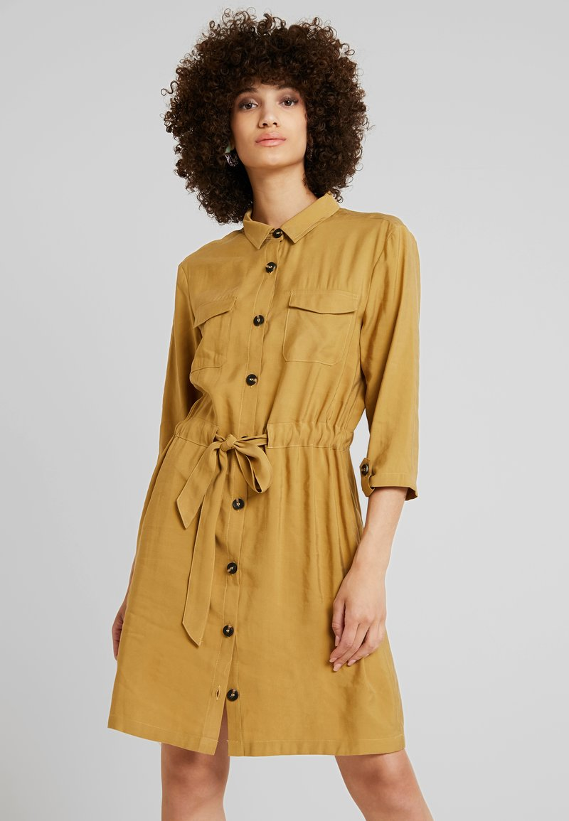 mbyM - HENRIETTA - Shirt dress - dijon
