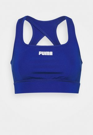 PAMELA REIF X PUMA SQUARE NECK BRA - Medium support sports bra - mazerine blue