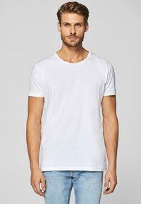 Esprit - 2 PACK - T-shirt basic - white - 1