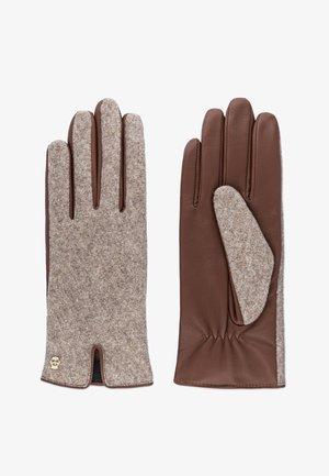 GRÜNWALD - Gloves - cognac