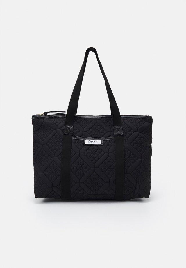 GWENETH FLOTILE WORK - Shoppingveske - black