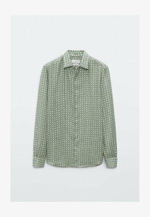 SLIMFIT - Shirt - evergreen
