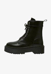 PULL&BEAR - Veterboots - black - 1