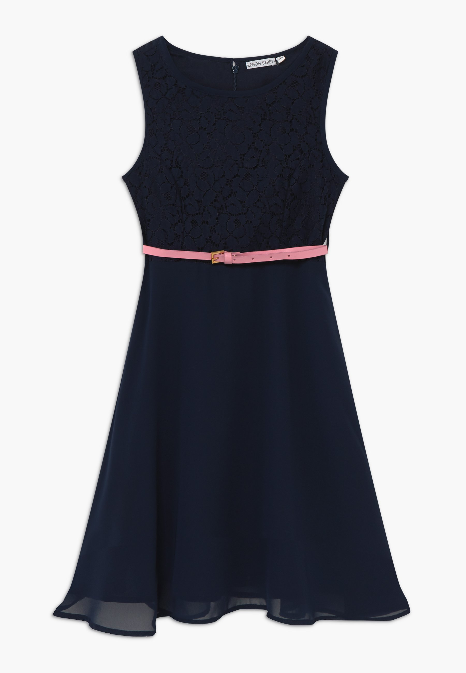 teen girls - cocktailkleid/festliches kleid - medieval blue