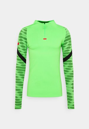Sports shirt - green strike/black/siren red