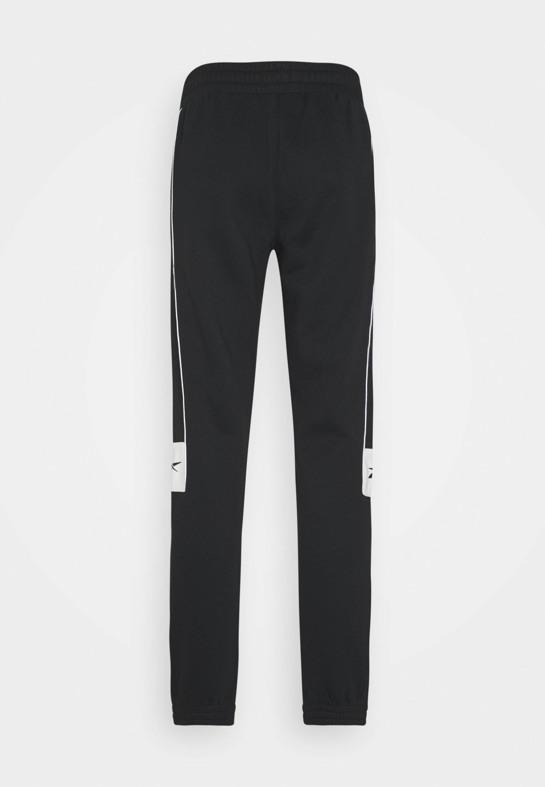 Reebok Classic LINEAR PANT - Pantalon de survêtement - black