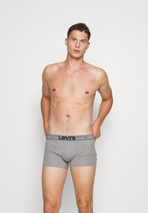 MEN GIFTBOX STRIPES LOGO BOXER BRIEF 3 PACK - Pants - black/grey