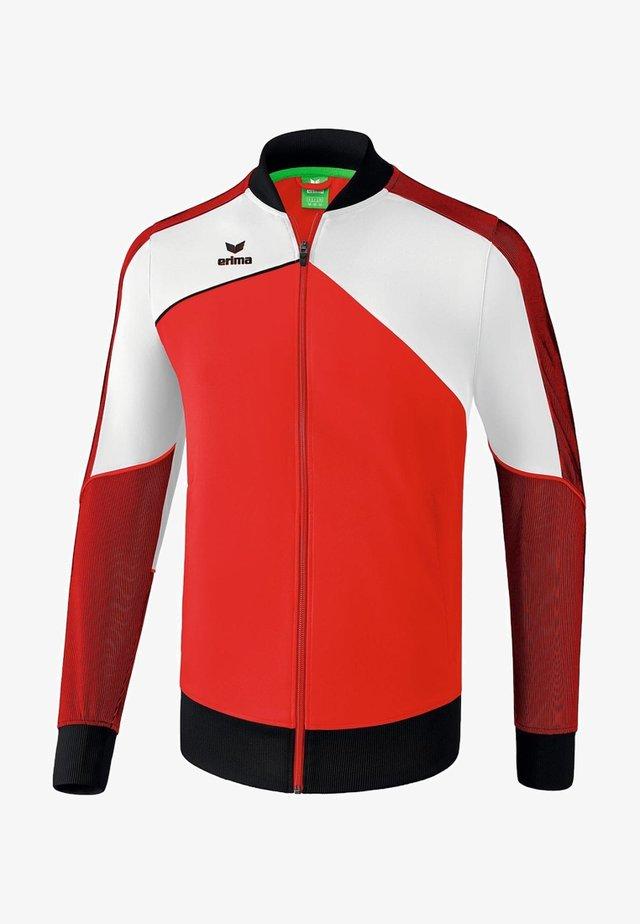 PREMIUM ONE 2.0 - Training jacket - red/white