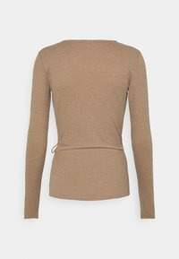 Anna Field - Long sleeved top - mottled beige - 1