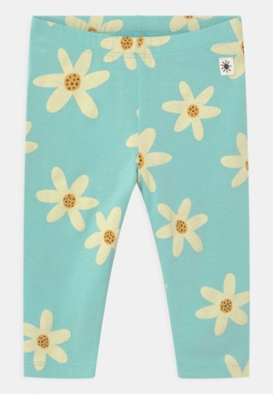 FLOWER - Leggings - Trousers - dusty aqua