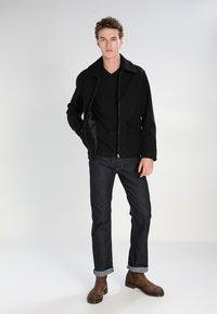 Lacoste - T-shirt basic - black - 1