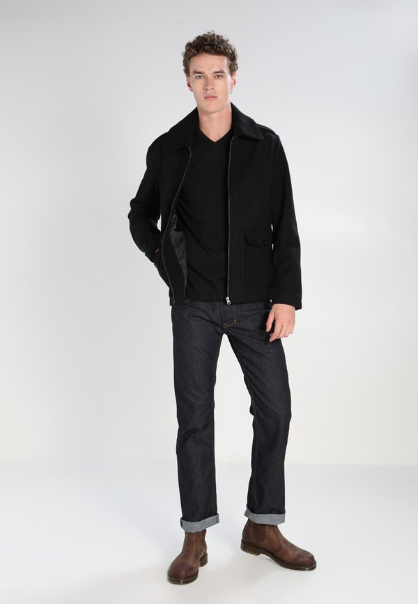 Lacoste T-shirt basic - black/czarny Odzież Męska ZTRK