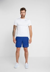Nike Performance - AIR CHALLENGER SHORT - Urheilushortsit - indigo force/silver - 1