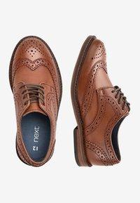 Next - Elegantní šněrovací boty - brown - 1