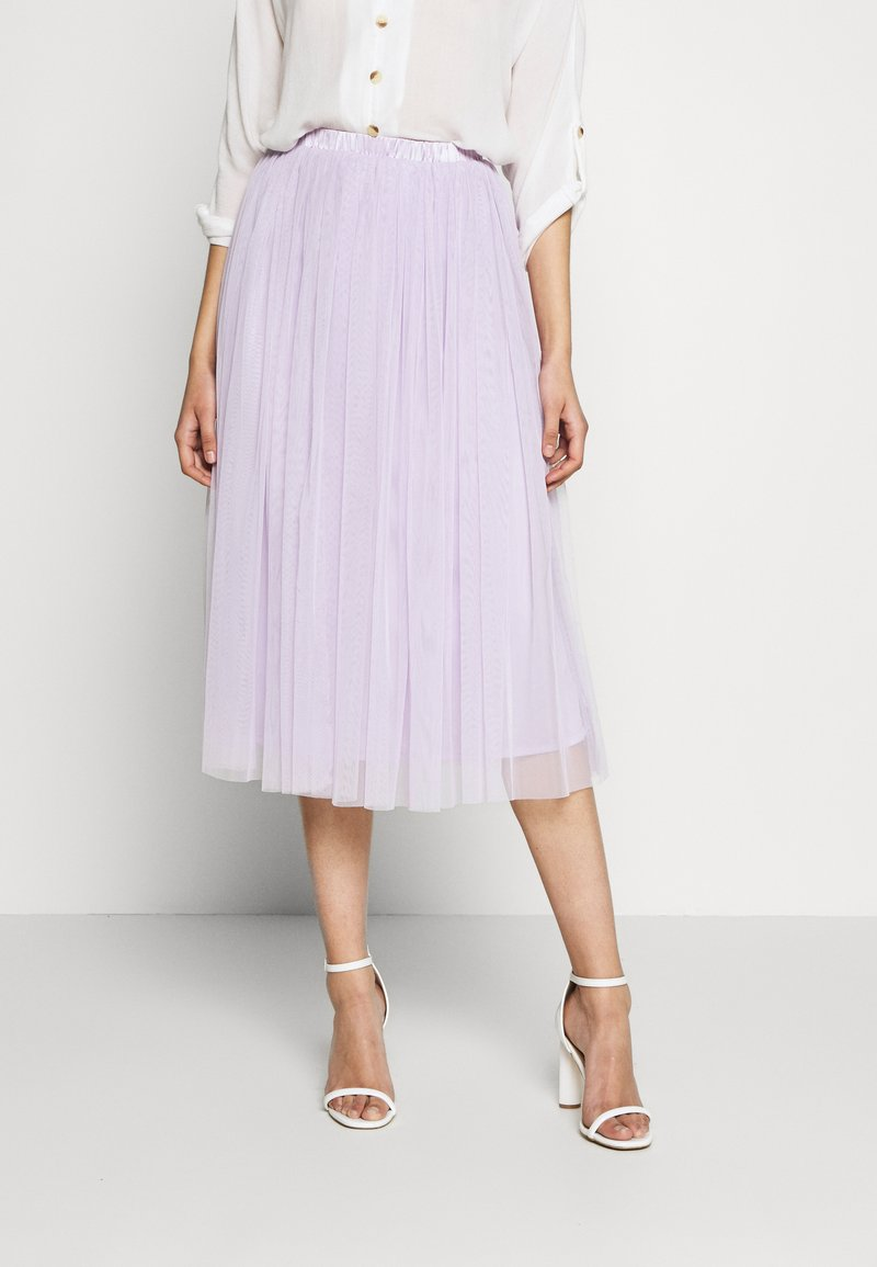 Lace & Beads Tall - VAL SKIRT - A-line skirt - lilac