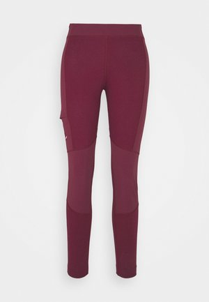 ALPINE - Leggings - rhodo red