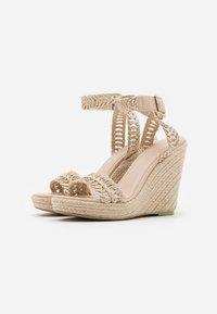 NA-KD - High heeled sandals - natural - 2