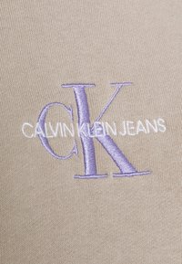 Calvin Klein Jeans - MONOGRAM LOGO - Hoodie - beige - 6