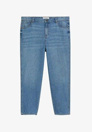 MARINA - Straight leg jeans - mellemblå