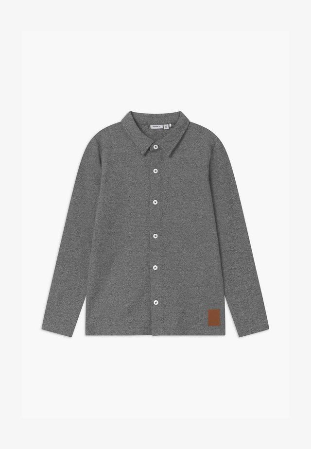 NKMNOVAK - Skjorte - dark grey