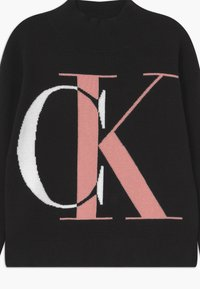 Calvin Klein Jeans - EXPLODED MONOGRAM - Trui - black - 2