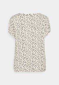 TOM TAILOR - Bluser - creme leo dot print - 1