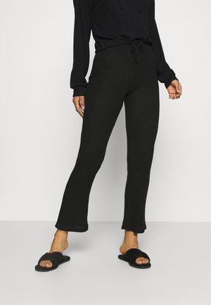 STINA HOODIE - Maglia del pigiama - black