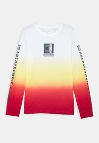 Abercrombie & Fitch - VINTAGE PRINT LOGO - Long sleeved top - orange - 0