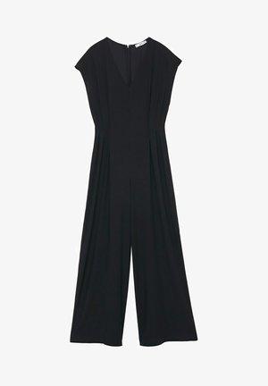 PLEATED DETAILS - Tuta jumpsuit - black