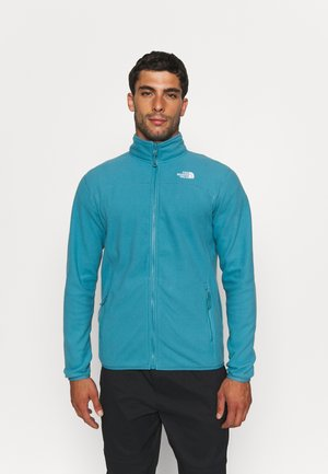 GLACIER FULL ZIP - Fleecová bunda - storm blue