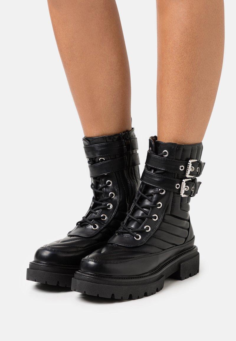 RAID - BRIANAH - Platform ankle boots - black