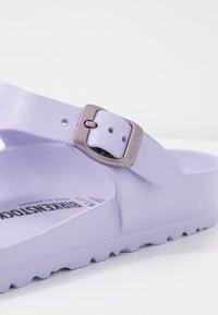 Birkenstock - GIZEH - Sandalias de dedo - purple fog - 2