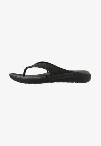 CROCS LITERIDE - Sandály do bazénu - black/slate grey