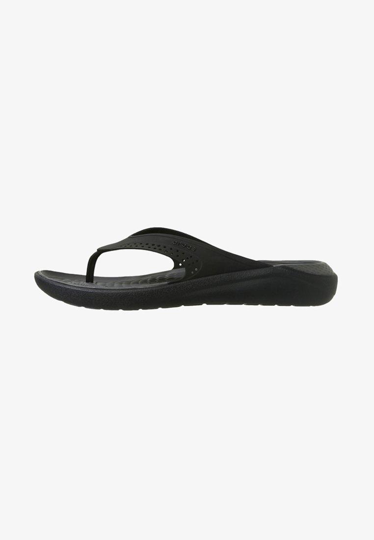 Crocs - CROCS LITERIDE - Sandály do bazénu - black/slate grey