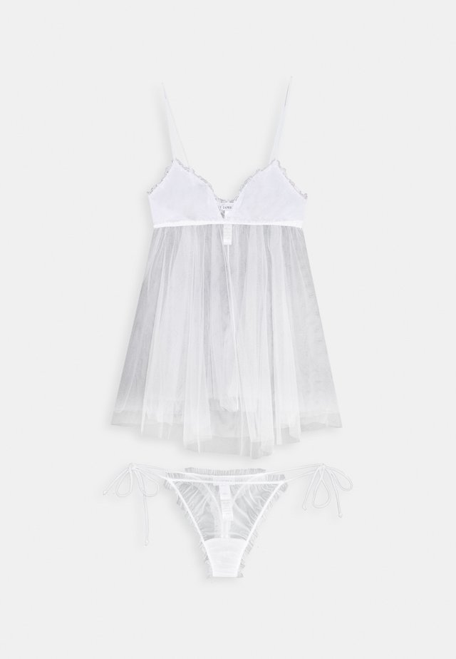 MISS SUNSHINE BABY DOLL STRING - Pyjama set - white